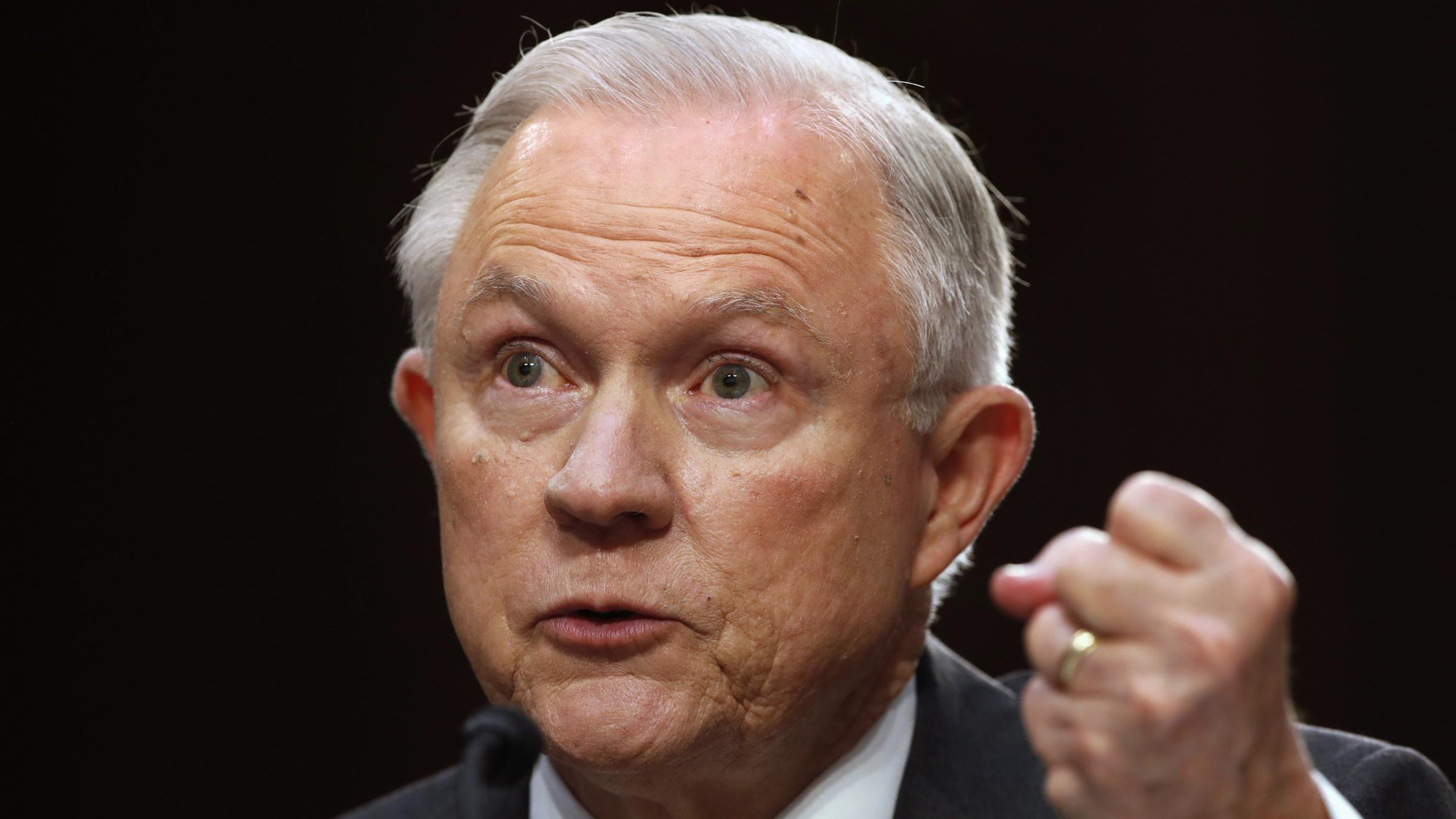 Jeff Sessions denies 'false and scurrilous Russian Federation allegations'